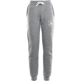 Aclima FleeceWool Pantalon De Jogging Femme, grey melange